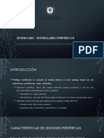 13- Sindromes Vestibulares Perifericos