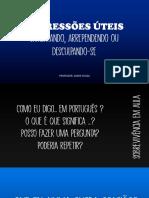 EXPRESSOES UTEIS - LAMENTANDO