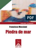 PIEDRA DE MAR por Francisco Massiani