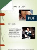 Sindrome de Lesh Nyhan