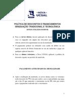 Politicas de Desconto Graduacao Tradicional e Tecnologica Atualizada 280418