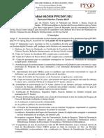 Edital PPGD