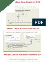 AULA-3 - Análise e Cálculo de Curto-Circuito