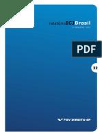Relatório ICJBrasil - 2º sem 2015