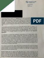 TransCanada Easement Letter February 25 2019