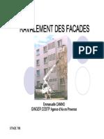 Diagnostic des façades