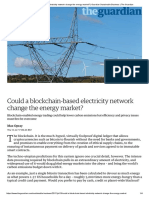 Could a Blockchain-based Electricity Network Change the Energy Market_ _ Guardian Sustainable Business _ the Guardian