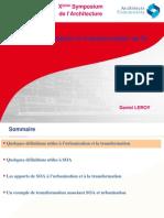 ion Et Transformation Du SI SOA V1