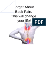 Forget About Back Pain
