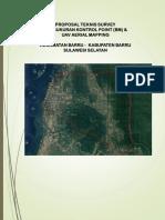 Proposal UAV Kecamatan Barru
