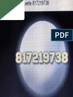 Amuleto de La Suerte Secuencia Numérica