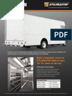 Fleet Brochures Walk in Van