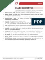 Tabela de Conectivos II - Redação