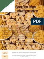 Production Des Pate Alimentaire