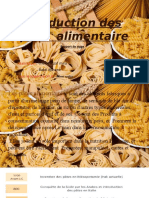 Production Des Pate Alimentaire