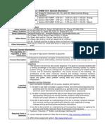 UT Dallas Syllabus for chem1311.003.10f taught by John Sibert IV (sibertj)