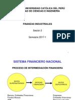 Finanzas Industriales - Cap 1- Sesión 2 - Sistema Financiero Nacional