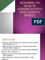 Value of Economic Activity