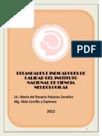 ESTANDARES E INDICADORES  DE CALIDAD INCN 2012.pdf