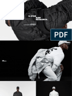 G-Star RAW Research II Digital Lookbook