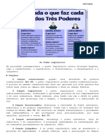 Constitucional 2 - 2º Bimestre - Dos Poderes