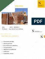 Diseño Albañileria - Sesion 1