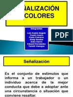 Señalización y Colores
