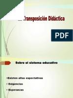 Transposición didáctica