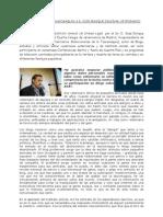 Entrevista sobre la Tauromaquia al Sr  Zaldívar, Veterinario