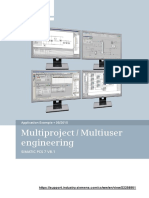 SIMATIC PCS7 Multiproject Multiuser Engineering