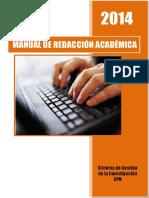 Manual de Redaccion APA / UPN