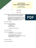 Program Congres Medicina interna 2019