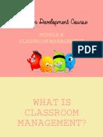 Classroom Management Slides