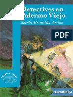 Detectives en Palermo Viejo de María Aráoz