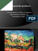 La vanguardia grotesca - obras seleccionadas