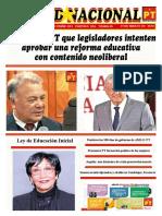 Unidad Nacional 31 de Marzo de 2019