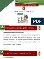 Federacion Venezolana de Futbol Mesas de Trabajo