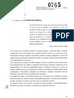 Resol 0765-14 CGE Contenidos de Pedagogía
