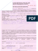 Documentos Act as y Sun Arp