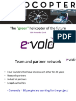 """Alexander zosel Evolo - The """"green"""" helicopter of the future"""