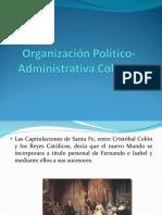 organizacinpoltico-administrativacolonial