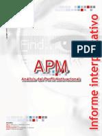 Informe APM Modelo