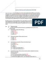210-250-SECFND Exam Topics With Lesson Numbers