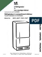 KENMORE Bottom-Mount Refrigerator.pdf