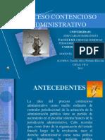 Proceso Contencioso Administrativo Mariategui