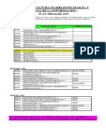 LIC. Bibliotec. y CIA. Inform. PLAN 2004 Mod 2015