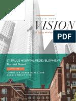 St. Paul's Hospital redevelopment plan