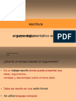 Writing - Argumentative essay, PP.en.es.pdf