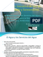 Proyecto Ley de Agua Potable y Saneamiento Mexico 2010