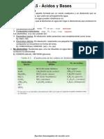 acidos y basess